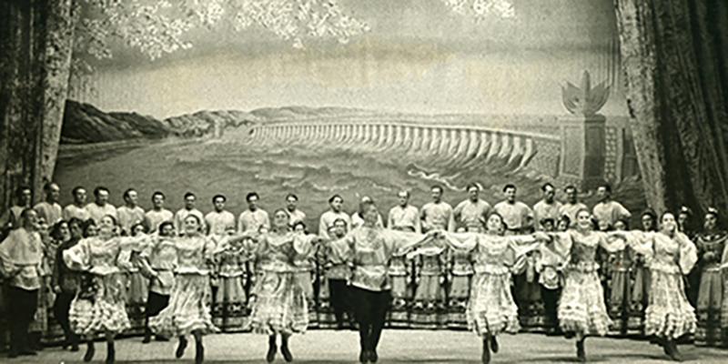 Народное хоровое пение