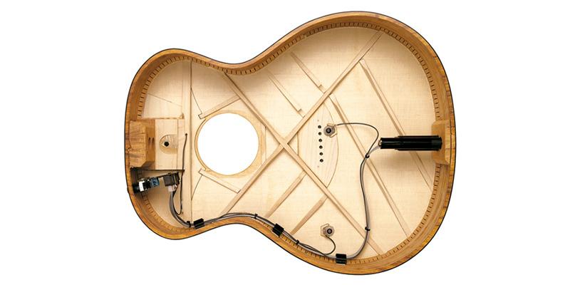 Как повесить гитару